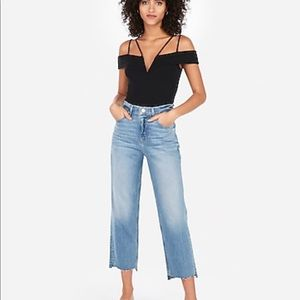 NWT Express Off the Shoulder Bodysuit Petite Small